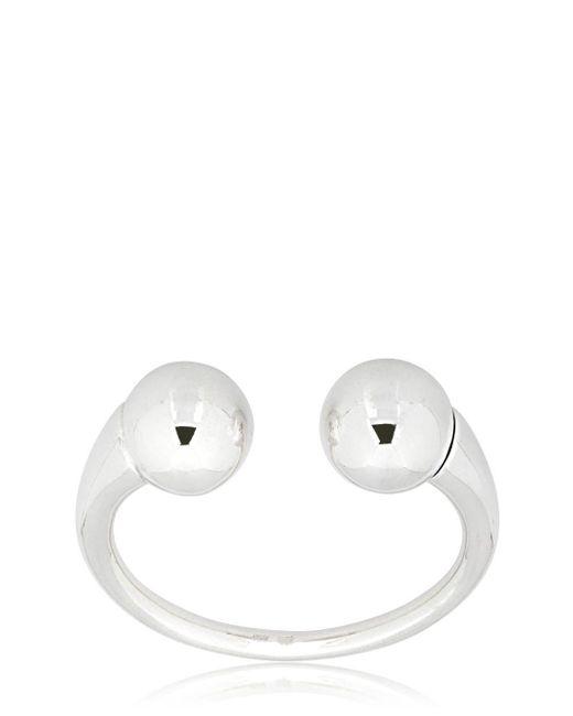 Betony Vernon - Metallic Double Sphere Massage Bracelet - Lyst