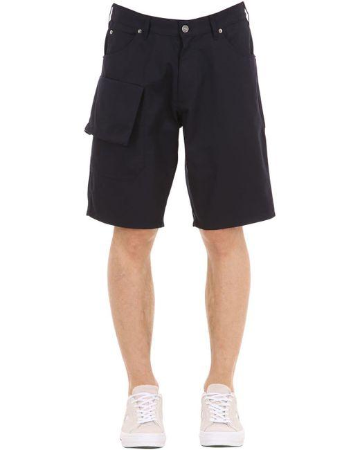 "Jacquemus - Blue Shorts ""le Short Gadjo"" De Mezcla De Algodón for Men - Lyst"