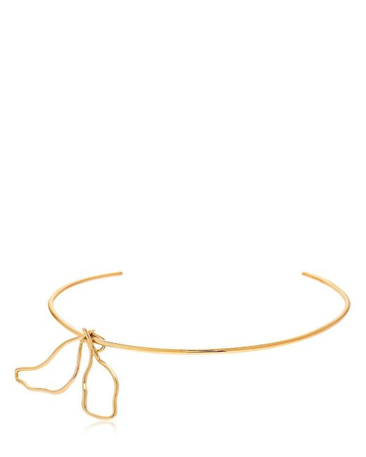 Elizabeth and James - Metallic Zada Choker - Lyst