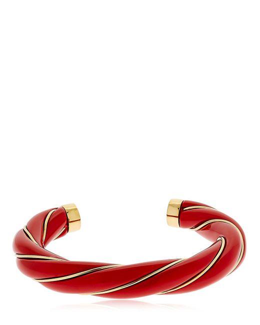 Aurelie Bidermann | Red Diana Twisted Bracelet | Lyst