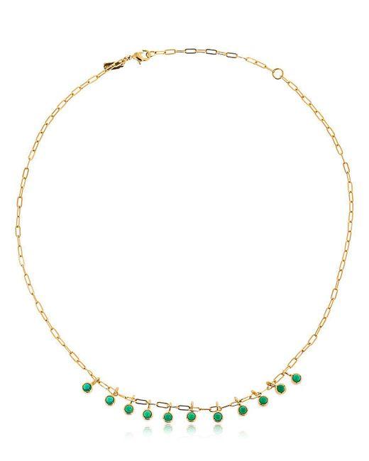 Elizabeth and James - Metallic Georgia Necklace - Lyst