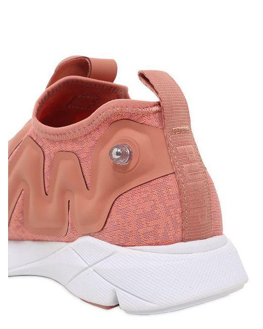 41edd70eb7a9 Lyst - Reebok Pump Supreme Guerrilla Sneakers in Pink for Men - Save 65%