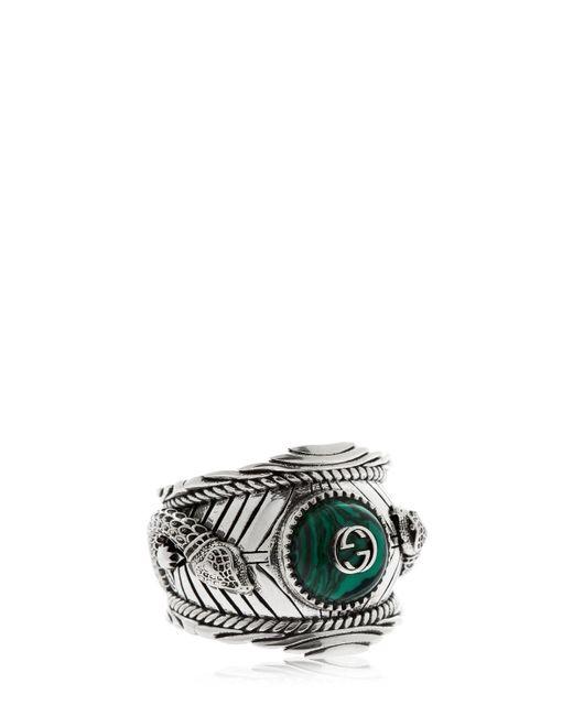 Gucci - Metallic Garden Ring for Men - Lyst