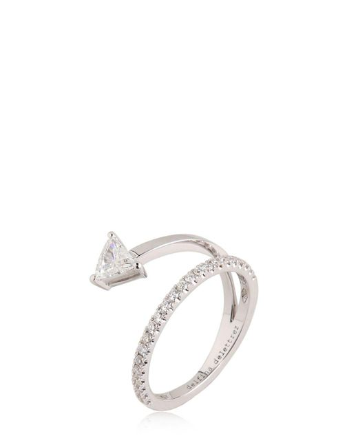 Delfina Delettrez - Metallic Marry Me Ring - Lyst