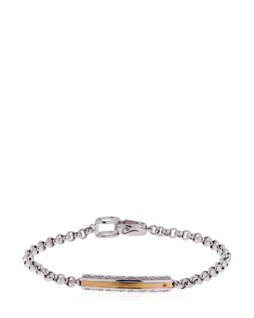 MARCO DAL MASO | Metallic Ara Polished Silver Bracelet | Lyst