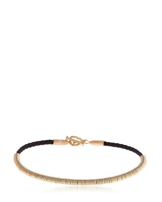 Luis Morais | Metallic Uber Braided Bracelet | Lyst