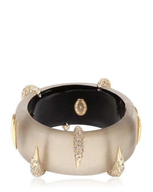 Alexis Bittar | Metallic Durban Gold Pavé Beak Bracelet | Lyst