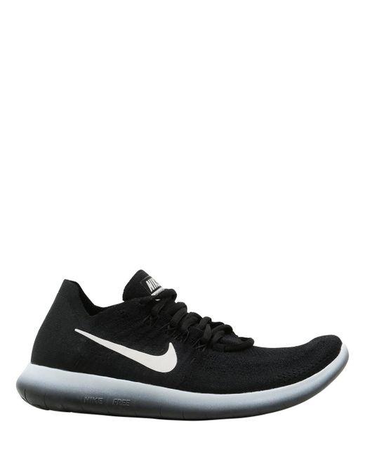 Nike - Black Nikelab Free Rn Flyknit 2017 Sneakers - Lyst