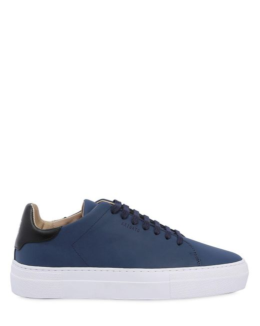 Axel Arigato - Blue Clean 360 Matte Leather Sneakers for Men - Lyst