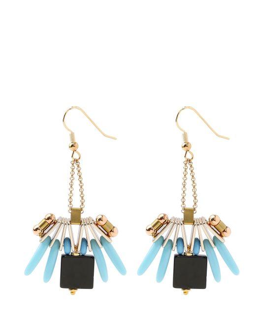 Scho | Black Rio Buzz Earrings | Lyst