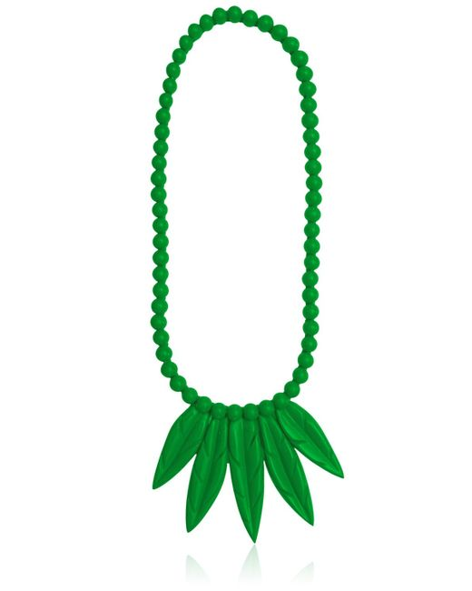 Mariah Rovery | Green Colar Penas Necklace | Lyst