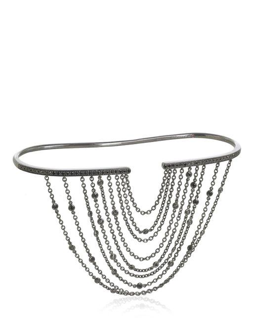 Gaydamak   Black Fountain Collection Hand Bracelet   Lyst