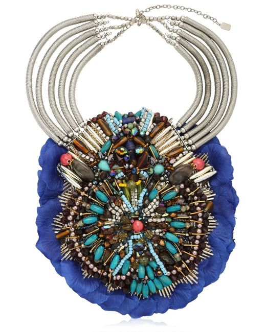 Anita Quansah London | Blue Llia Necklace | Lyst