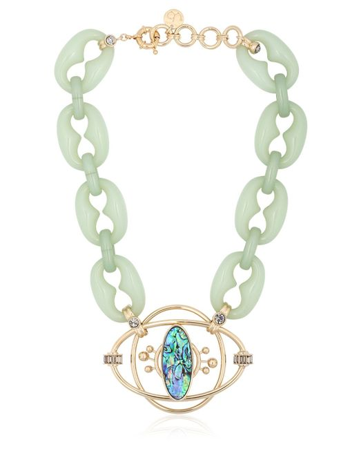 Valentina Brugnatelli | Green Isabella Necklace | Lyst