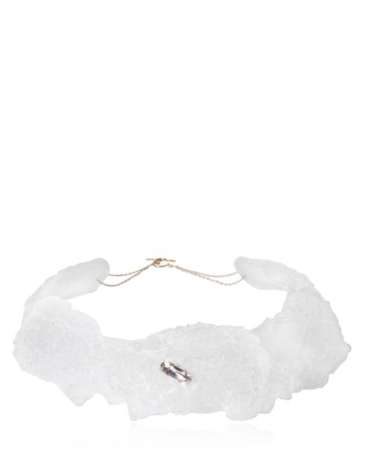 Noritamy | White Tephra Necklace | Lyst