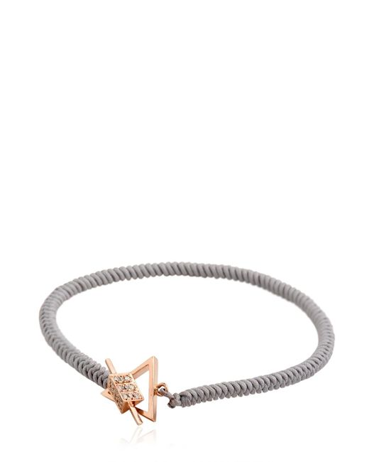 Luis Morais | Gray Medium Trikona Toggle Bracelet | Lyst