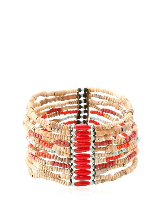 Isabel Marant | Red Pottery Bracelet | Lyst