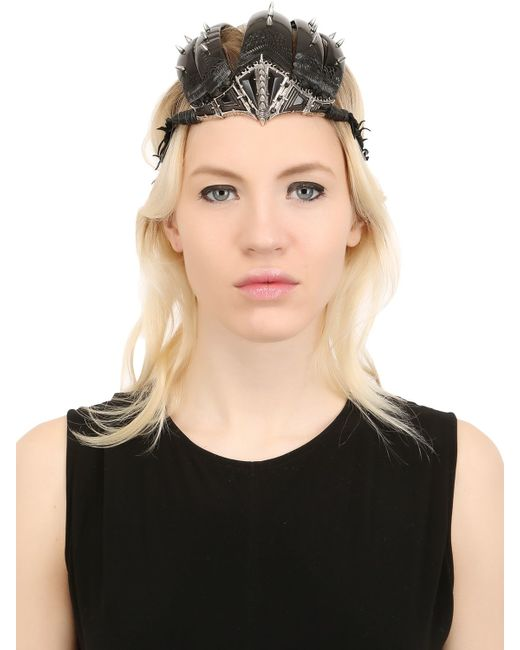 KD2024 | Black Equinox Headpiece for Men | Lyst