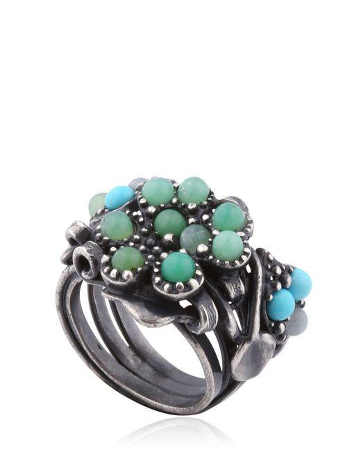 Bottega Veneta | Natural Stones Ring | Lyst