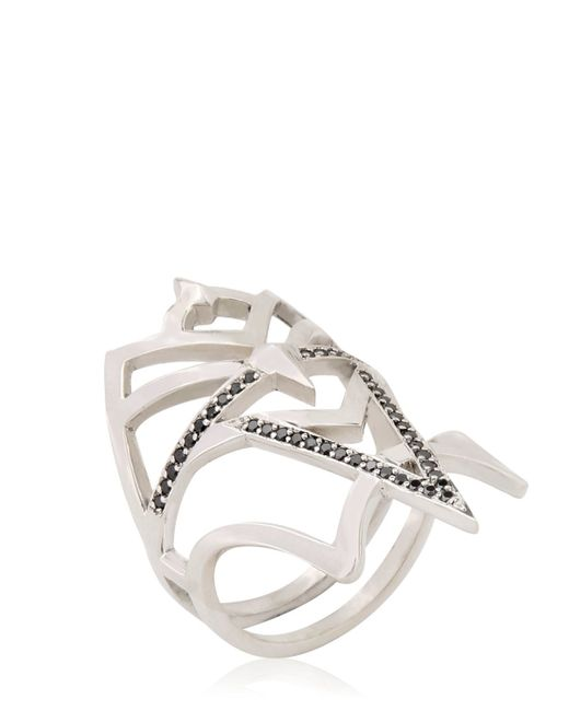 Meadowlark   Metallic Henna Ring   Lyst