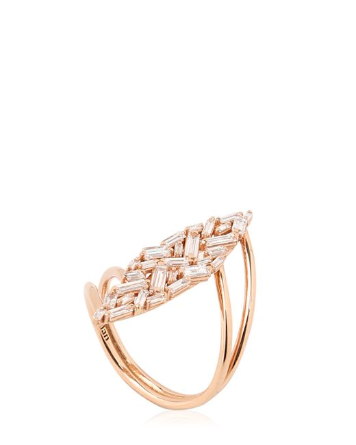 Suzanne Kalan | Pink Maki Baguette Ring | Lyst