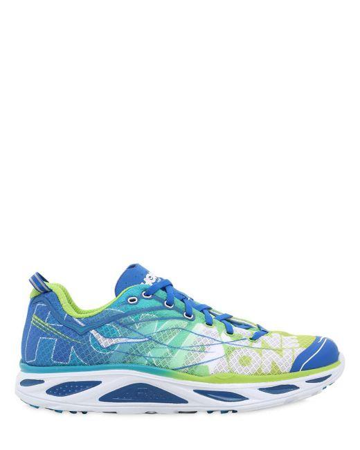 Hoka One One | Blue Huaka 2 Light Road Running Sneakers for Men | Lyst