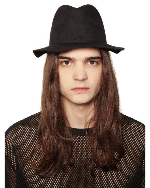 Cheap Monday | Black Felt Hat for Men | Lyst