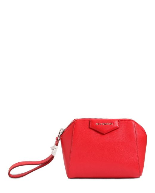 Givenchy | Red 'pandora' Clutch | Lyst