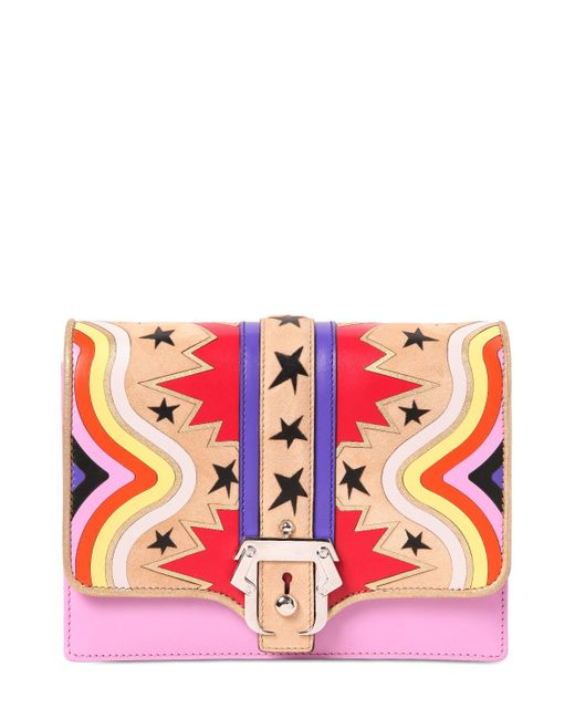 Paula Cademartori | Pink Tatiana Leather Shoulder Bag | Lyst