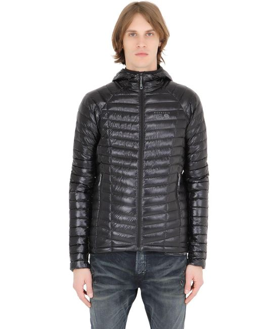 Mountain Hardwear | Black Ghost Whisperer Hooded Down Jacket for Men | Lyst