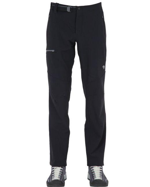 Mountain Hardwear | Black Chockstone Midweight Active Pants for Men | Lyst