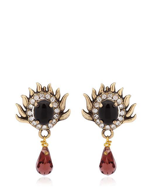 Mercantia   Metallic Tindari Earrings   Lyst