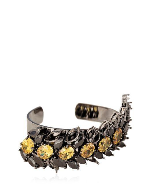 Iosselliani   Black All That Jewelry! Demi Hollow Bracelet   Lyst
