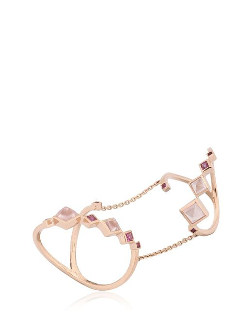 Ruifier | Pink The Doppio Ring | Lyst