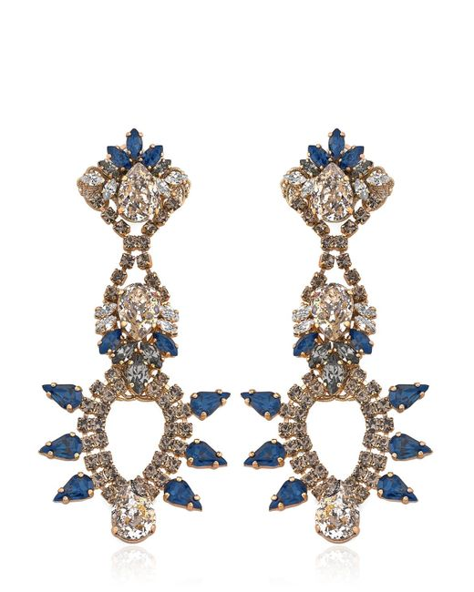 Anton Heunis | Blue Rebel Gold-Plated Earrings | Lyst