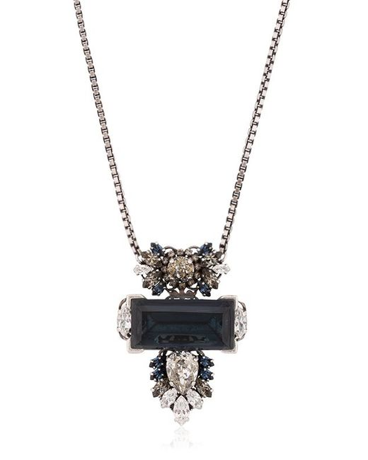 Anton Heunis | Blue Large Geometric Rebel Pendent Necklace | Lyst