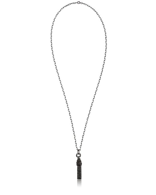 Henson | Black Horn Necklace for Men | Lyst