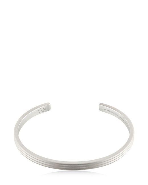 Le Gramme | Metallic Le 13 Matte Guilloche Lines Bracelet for Men | Lyst