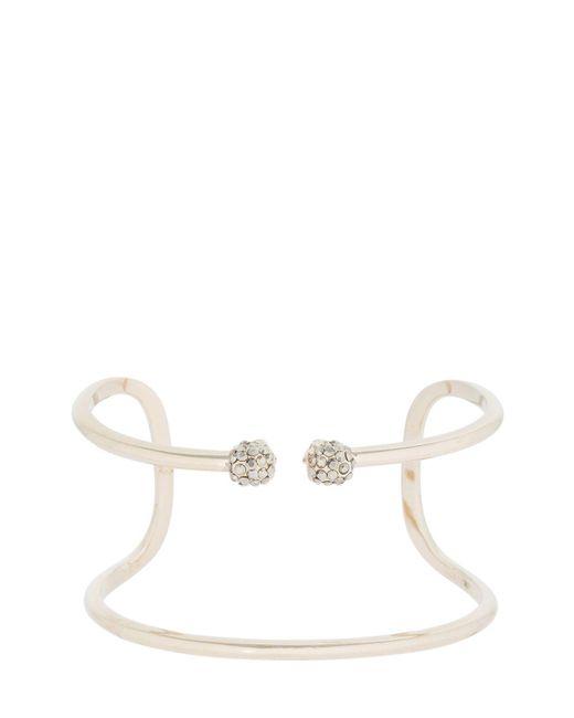 Alexander McQueen - Metallic Double Skulls Stacked Bracelet - Lyst