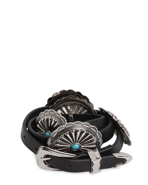 B-Low The Belt | Black 20mm Western Leather High Waist Belt | Lyst