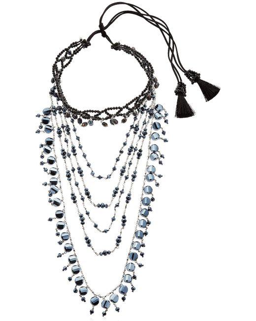 Night Market | Multicolor Multi Chain Decò Choker Necklace | Lyst