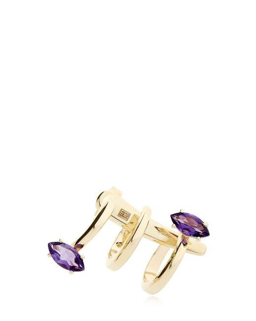 Bea Bongiasca | Metallic Gloriosa Lily Glory Gold Mono Earring | Lyst