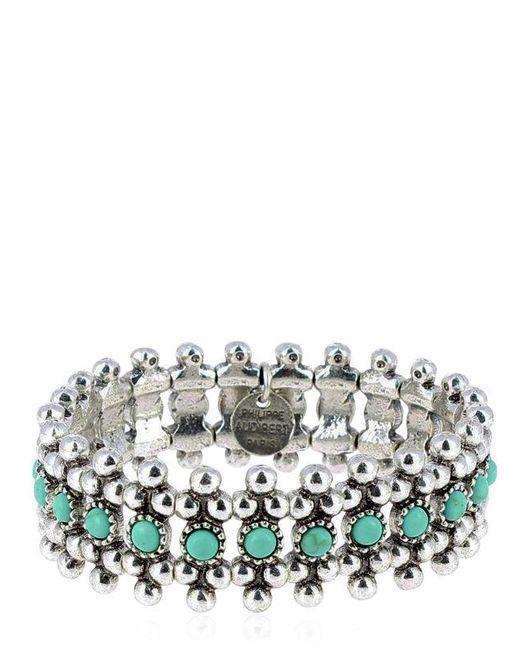 Philippe Audibert   Blue Han Turquoise Stretch Bracelet   Lyst