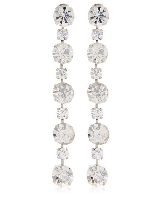 Ca&Lou - Metallic Victoria Simple Drop Earrings - Lyst