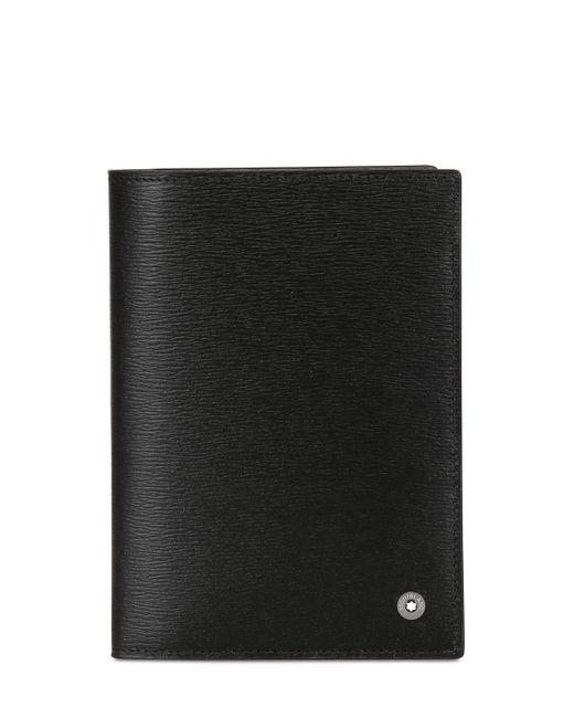 Montblanc | Black 4810 Westside Passport Holder for Men | Lyst