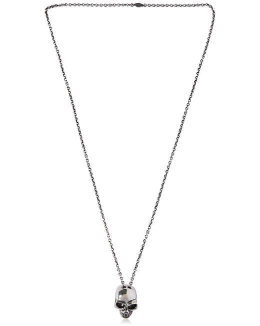 Alexander McQueen | Metallic Divided Skull Chain Necklace for Men | Lyst