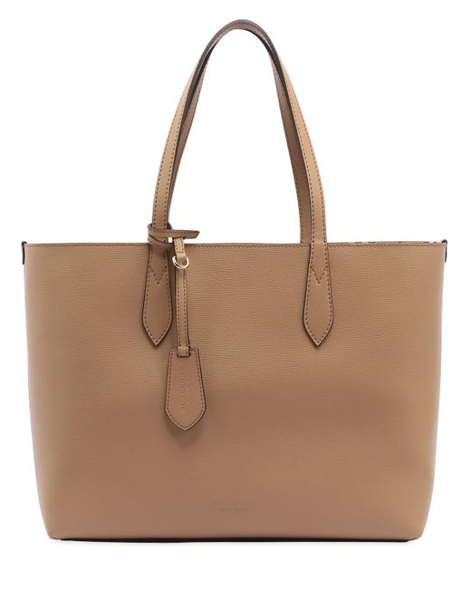Burberry Medium Reversible House Check Tote Bag in Natural . 7462e8ed14574