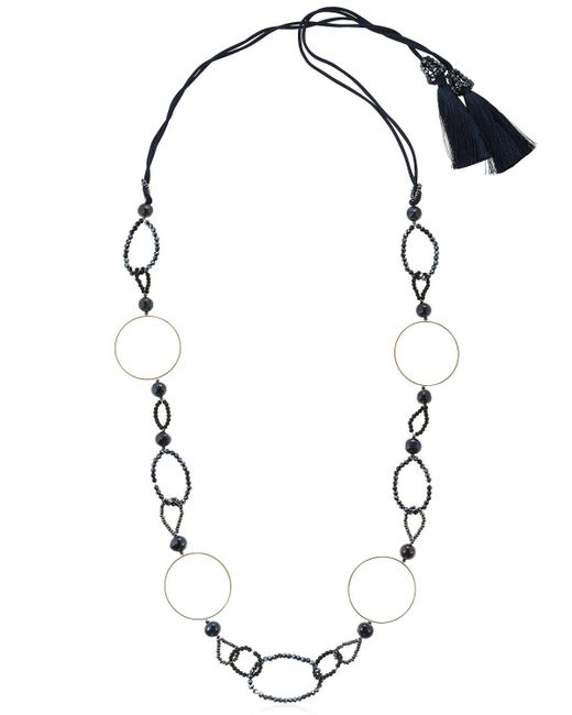 Night Market | Multicolor Symmetric Circle Necklace | Lyst