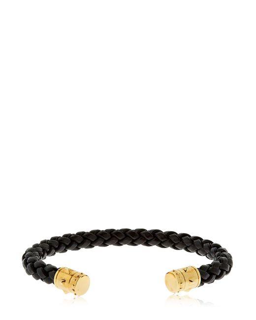 Northskull | Black Khar Cuff Leather & Brass Bracelet | Lyst