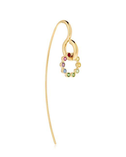 Charlotte Chesnais   Metallic Sapphire, Topaz & Gold Swing Earring   Lyst